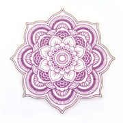 Freestyle Libre Silly Patch: Purple mandala