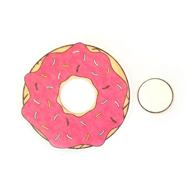 Freestyle Libre Silly Patch: Strawberry doughnut
