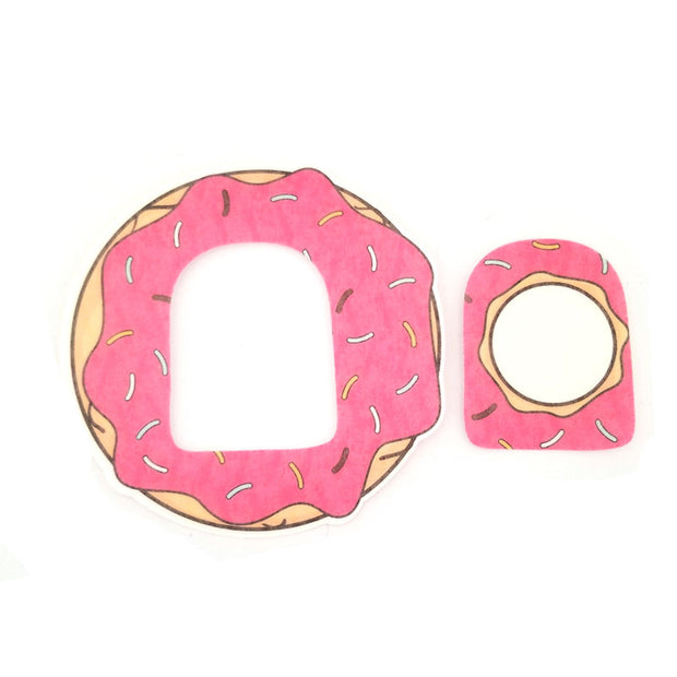 Omnipod Silly Patch: Strawberry doughnut
