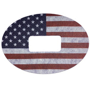 Dexcom G5 ExpressionMed tapes: U.S. flag