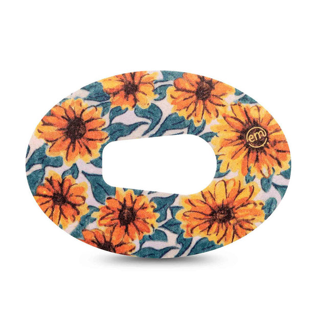 Dexcom G6 ExpressionMed tapes: Sunflower