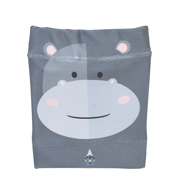 Dia-Band Armband, Junior Size - Cover your sensor: Happy Hippo