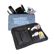 Dia-Zipper Bag: Diabetic survival kit