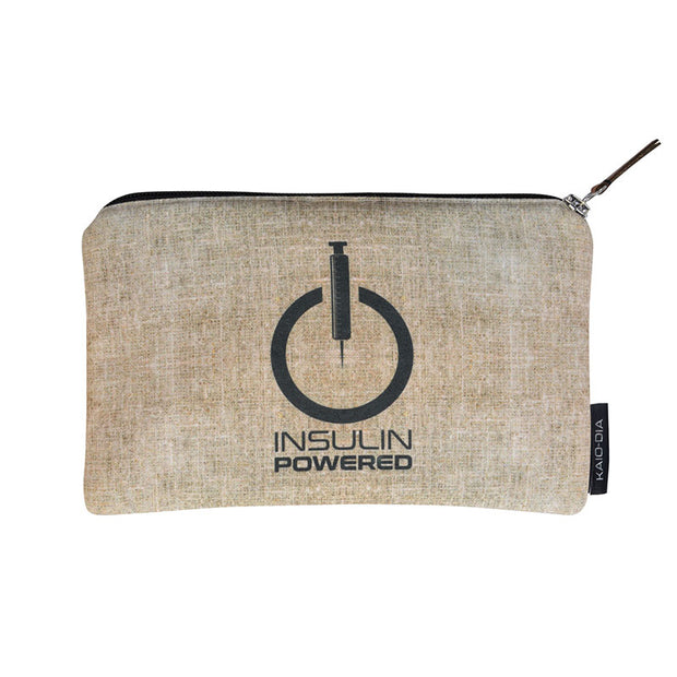 Dia-Zipper Bag: Insulin powered