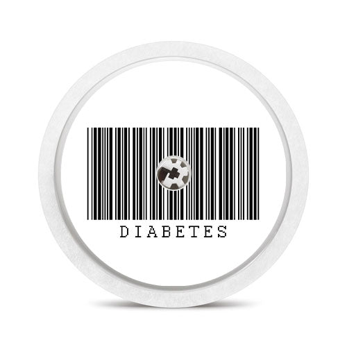 Freestyle Libre sensor sticker: Diabetes barcode