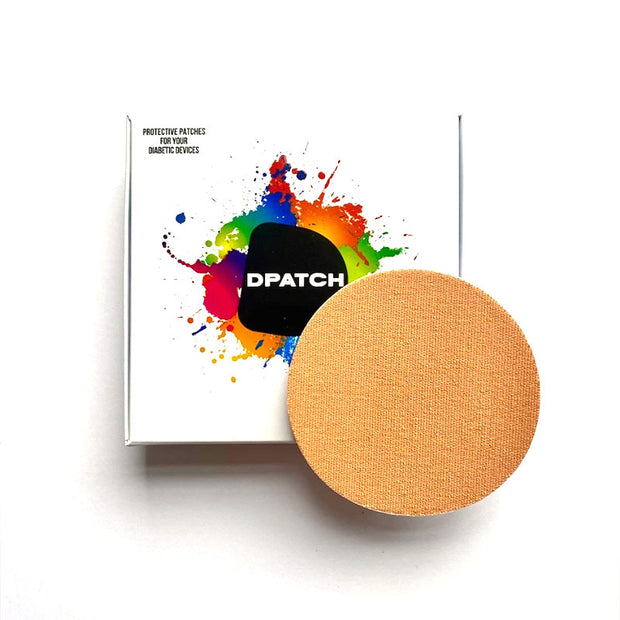 D Patch Freestyle Libre Adhesive patch - Smooth Material Sample