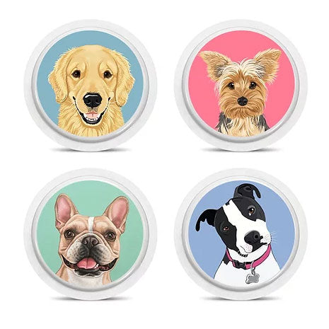 Freestyle Libre 4 sensor stickers: Dogs