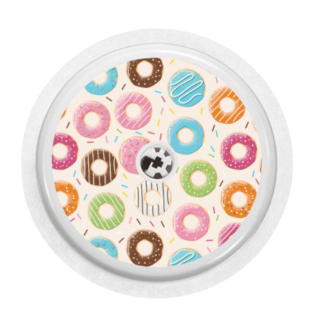 Freestyle Libre sensor sticker: Donuts