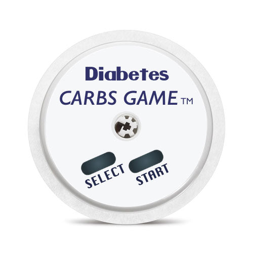 Freestyle Libre sensor sticker: Diabetes carbs game