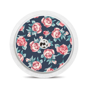 Freestyle Libre sensor sticker: Roses