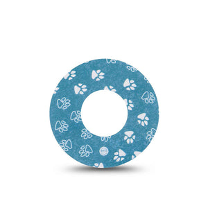 Freestyle Libre ExpressionMed tapes: Pawprint