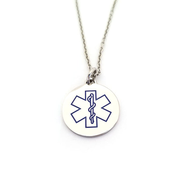 Type 2 Diabetes Medical Alert necklace