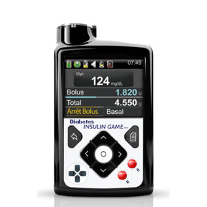 Medtronic 630g, 640g & 670g decorative sticker: Diabetes insulin game