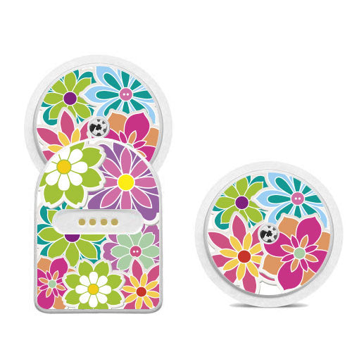 Miao Miao sticker set: Flowers