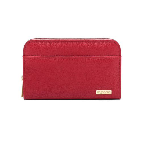 Myabetic Banting Diabetes Wallet - Crimson