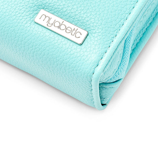 Myabetic Banting Diabetes Wallet - Paradise Blue