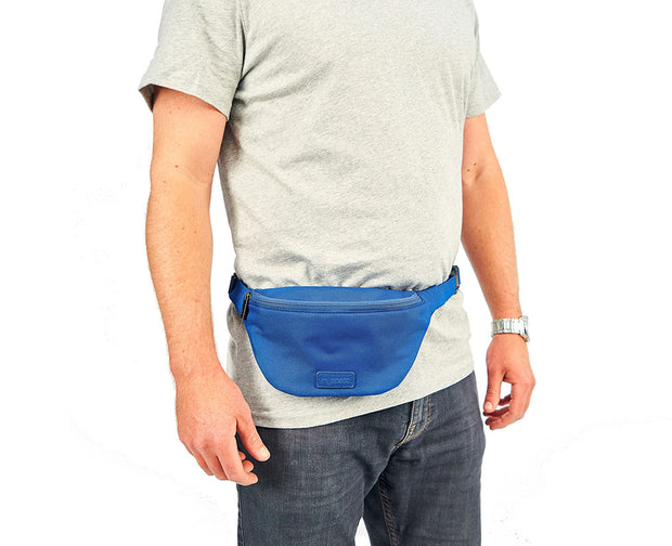Myabetic Jensen Diabetes Fanny Pack - Bleu universitaire