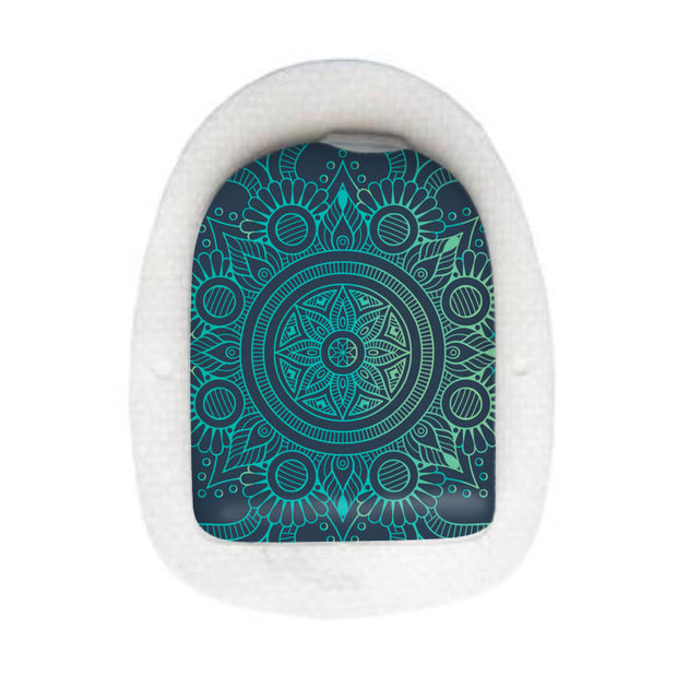 Omnipod decorative sticker: Mandala