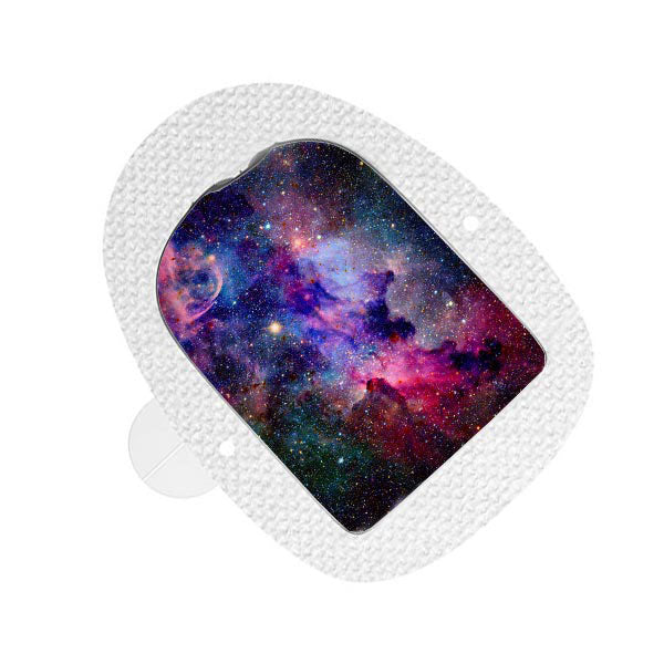 Omnipod decorative sticker: Galaxy