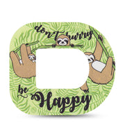 Omnipod ExpressionMed tapes: Sloth