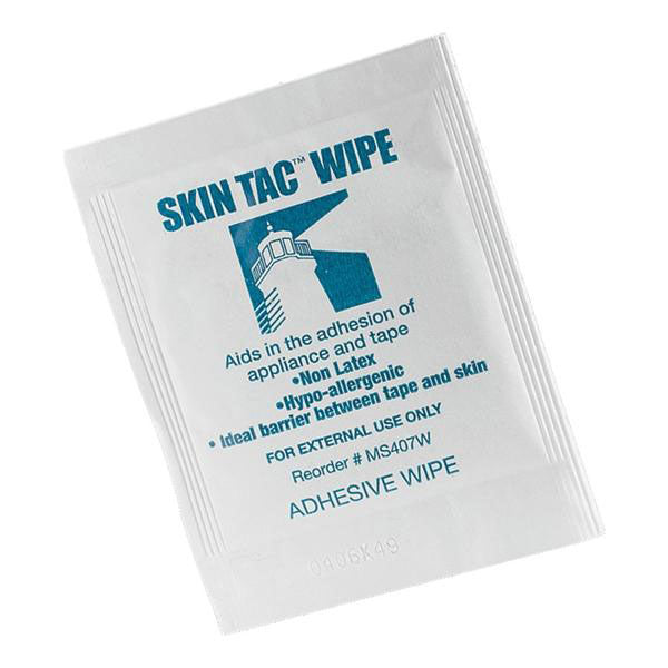 Skin Tac Adhesive barrier wipes