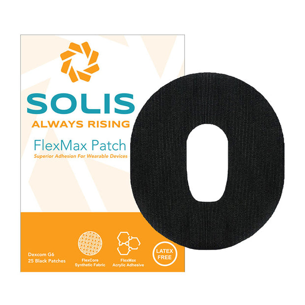 Solis FlexMax Patch for Dexcom G6 Adhesive patch sample