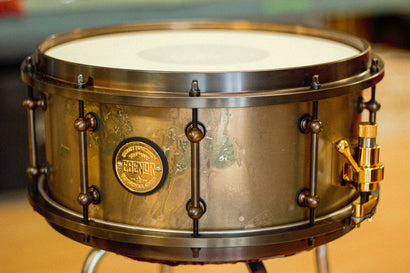 Ebenor Cast bronze snare collection | 14x6.5