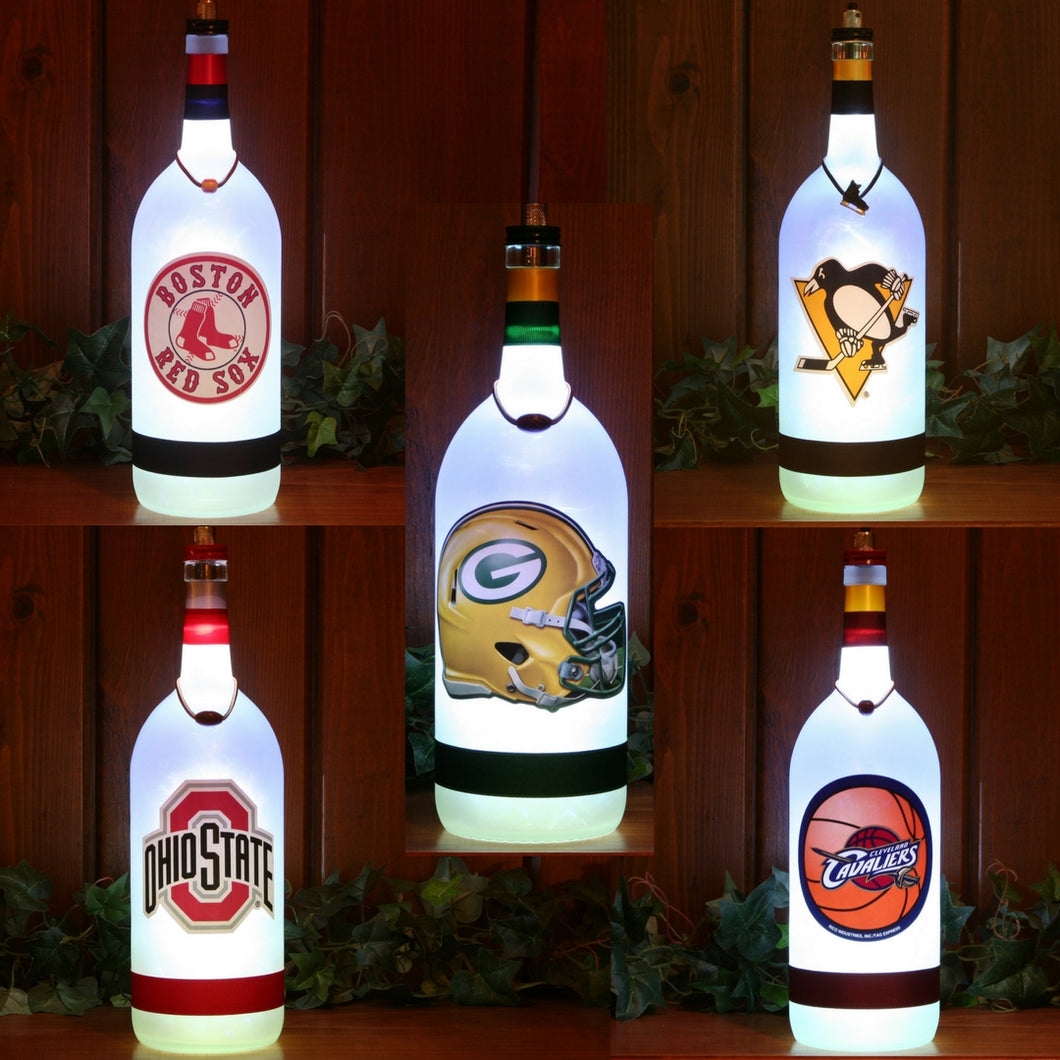 Football, Baseball, Hockey, Basketball, and College Man Cave Lamps