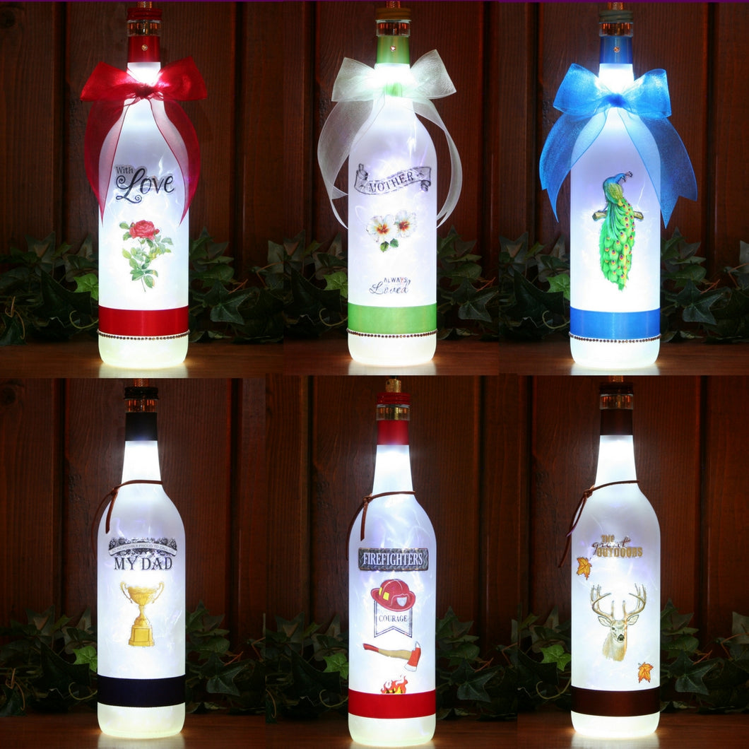 Men Women and Kids Themed Gift Lamps