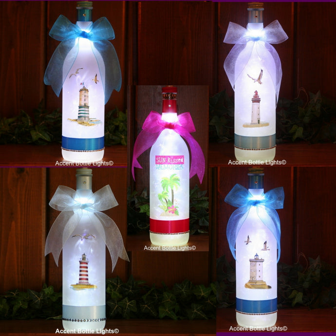 Beach and Lighthouse Themed Lamps