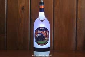 Denver Broncos Football Bottle Light