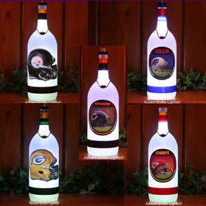 Football Sports Team Frosted Glass Wireless Lamps