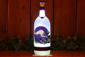 Minnesota Vikings Football Bottle Light