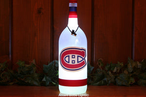 Montreal Canadiens Hockey Team Bottle Light
