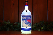 New York Rangers Hockey Bottle Light