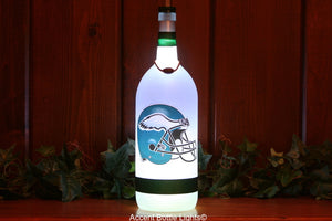 Philadelphia Eagles Football Team Bottle Light