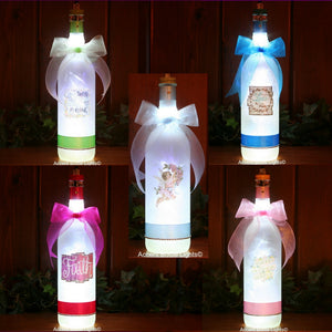 Religious and Angel frosted glass lamps