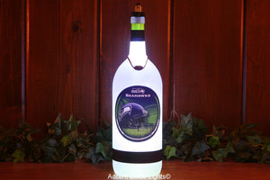 Seattle Seahawks Football Team Bottle Light