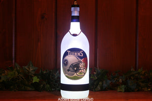 Tennessee Titans Football Team Bottle Light