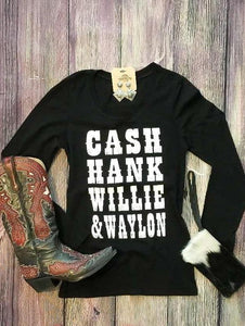 I Walk the Line Long Sleeve