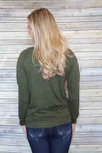 Olive Open Shoulder
