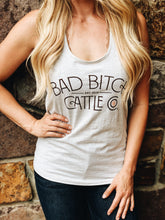 Bad bitch cattle company tank top