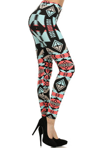 Navajo Print Leggings