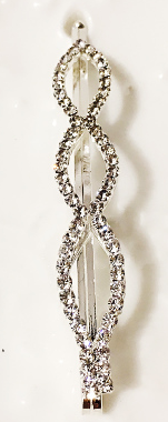 Silver Twist Hairpin