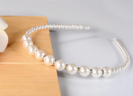 Larger Pearl Headband