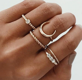 Lidia Ring Set