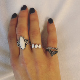 Bliss Queen ring set