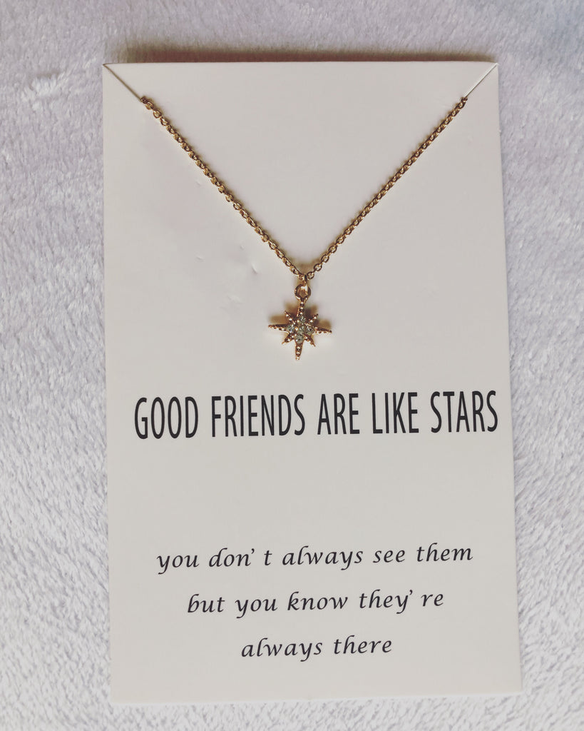 Good Friends Wish card