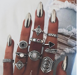 Bold Soul ring set