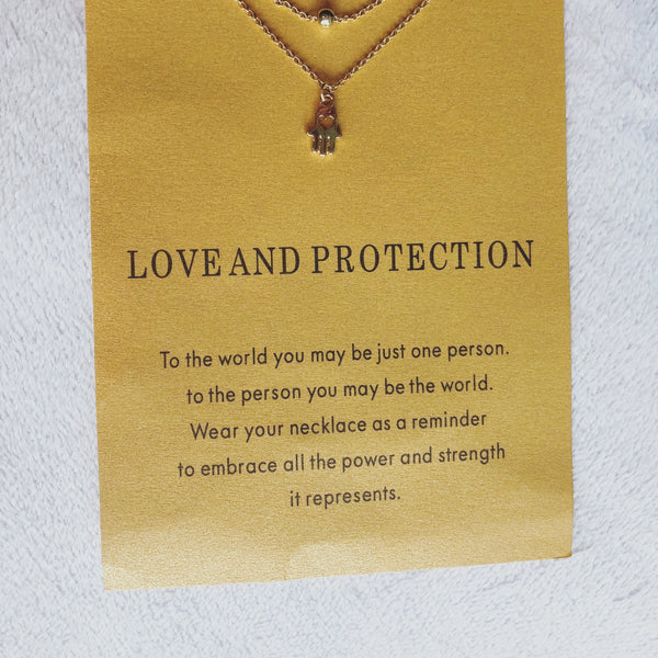 Love & Protection Wish Card